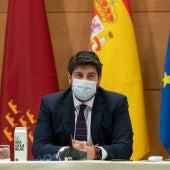 López Miras dice que es inadmisible e indecente la pretensión del Gobierno central de cerrar el Tajo-Segura
