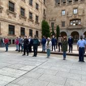 Minuto de silencio Salamanca