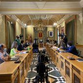 Momento de la votación: PSOE y Cuenca nos Une han votado a favor de los presupuestos de 2021