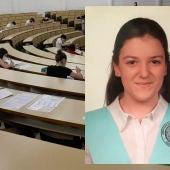 Alicia Ruiz ha obtenido la nota más alta en la EvAU de la Universidad de CLM