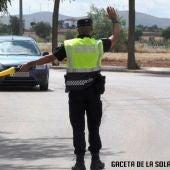 Imagen control policial La Solana
