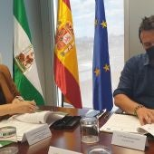 José María González y Marifran Carazo