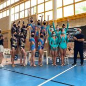 La gimnasta Arantxa Martínez se proclama campeona de CLM