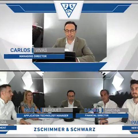 El Aula Zschimmer & Schwarz de Química Sostenible y Circular de la UJI muestra claves del sector químico tras la pandemia