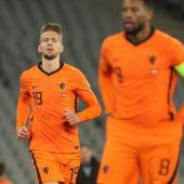 Luuk de Jong, con la selección neerlandesa.