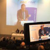 El presidente de Facpyme, Carlos Baño