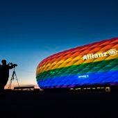 """Comunicado de la UEFA: """"El arcoíris no es un símbolo político y promueve todo aquello en lo que creemos"""""""