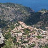 Deià, uno de los pueblos de montaña situado en la Serra de Tramuntana de Mallorca