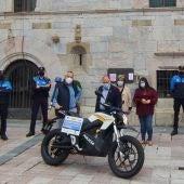 Presentación de la nueva motocicleta