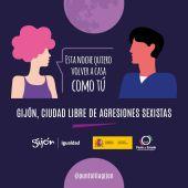 El Ayuntamiento de Gijón activa el 'Punto Lila'