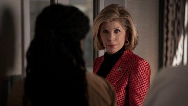 La actriz Christine Baranski, en el papel de Diane Lockhart, en la quinta temporada de 'The Good Fight'