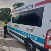 Control de alcoholemia realizado por la Guardia Civil de Teruel
