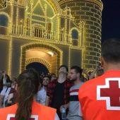 Cruz Roja atiende a diez personas en la noche de San Juan de la Feria de Badajoz