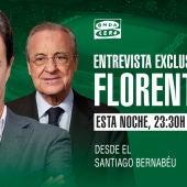José Ramón de la Morena entrevista este jueves a Florentino Pérez en El Transistor