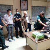 Ayuntamiento, Guardia Civil y Policía Local han organizado una batida de búsqueda