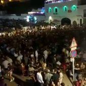 Segunda noche de macrobotellón y descontrol en Es Pla de Sant Joan de Ciutadella