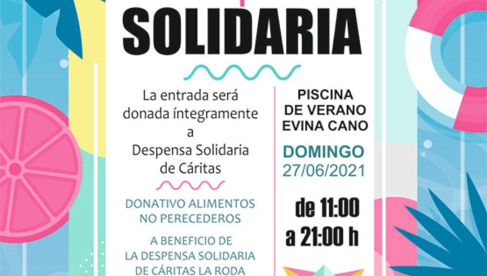 Cartel 'La Roda + solidaria'