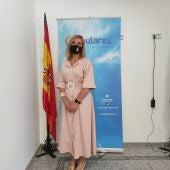 Cándida Tercero, concejal del PP en el Ayuntamiento de Valdepeñas