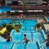 Una de las atracciones acuáticas de Playa Park