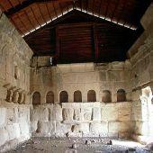Domus en el yacimiento romano de Los Bañales