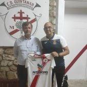 Luis Esquinas renueva como entrenador del CD Quintanar