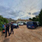 La Policía Nacional inspecciona una finca agraria en Torrepacheco en la que se explotaba a los trabajadores extranjeros