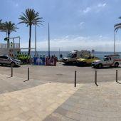 Comienza el servicio de socorrismo en las playas y se izan las Banderas Azules y Qualitur