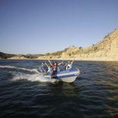 Actividades acuáticas en el Mar de Aragón