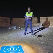 El dron con cámaras nocturnas de la Policía Local de Alicante