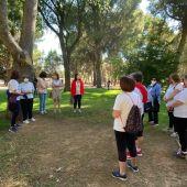 Clausurado en el Parque Alces el Programa Hábitos Saludables al aire libre del Centro de Mayores