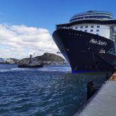 Imagen del 'Mein Schiff 4' en una escala en Alicante en temporadas anteriores