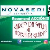 Recomend ACCION!!! con adega Arco da Vella e a Adega de Eladio