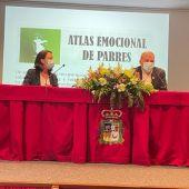 Consejera y alcalde durante la presentación