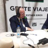 Francisco de la Torre, alcalde de Málaga, con Esther Eiros en Gente Viajera