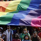 Una manifestación del Día del Orgullo Gay