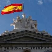 Imagen de la fachada del Tribunal Supremo.