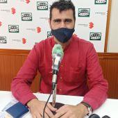 Ignacio García, en los estudios de Onda Cero Ciudad Real