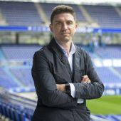 Rubén Reyes, director deportivo del Real Oviedo