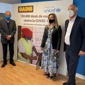 Gadis colabora con Unifec, enviando vacunas a paises menos desarrollados