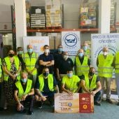 La Torta del Casar entrega un primer cheque de 5.556 euros a Banco de Alimentos de Cáceres