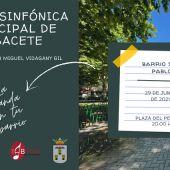 La Banda Sinfónica Municipal de Albacete lleva su música al Barrio San Pablo