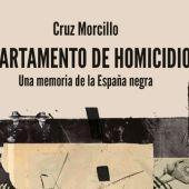 Portada libro 'Departamento de Homicidios' de Cruz Morcillo.