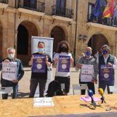 El Colectivo Salvemos San Mateo, contario al cambio modelo festivo en Oviedo.