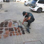 Robo de cable de cobre