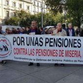Los pensionistas llevan meses movilizándose por unas pensiones dignas.