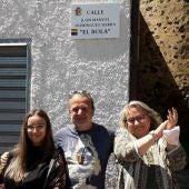Cáceres reconoce la figura de Juan Manuel Domínguez Sierra 'El Bola' dando su nombre a una calle en el barrio de San Blas