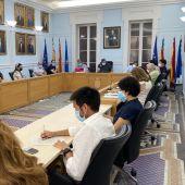 Pleno municipal del Ayuntamiento de Crevillent de junio de 2021.