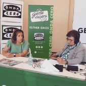 Susana Marqués, alcaldesa de Benicàssim, con Esther Eiros en Gente Viajera