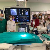 El Hospital Reina Sofía/ Nuevo  equipo de hemodinámica