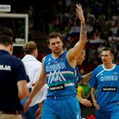 Doncic mete a Eslovenia en los Juegos y se cita con España